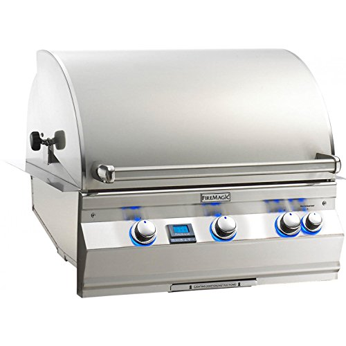 - Fire Magic Aurora A660i 30-inch Built-in Propane Gas Grill With One Infrared Burner And Rotisserie - A660i-6l1p