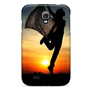 DustinHVance JeMztXt8289KmJNv Case For Galaxy S4 With Nice Cheerful Sunset Appearance