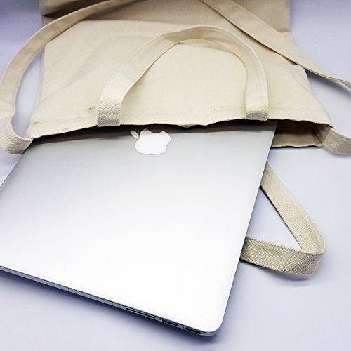 Generic Kolibri Canvas Tasche, Schultertasche mit Magnetknopf, Innentasche