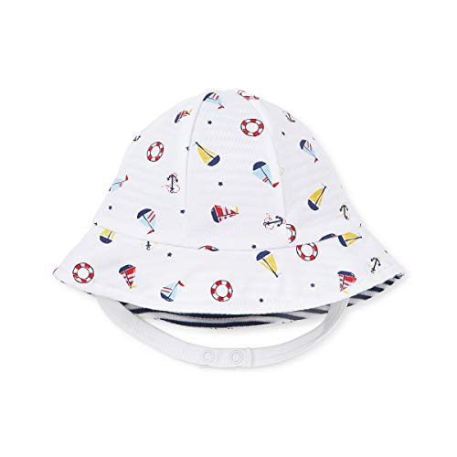 Kissy Kissy - Baby Boys Summer Sails - Reversible Sunhat-Medium ()