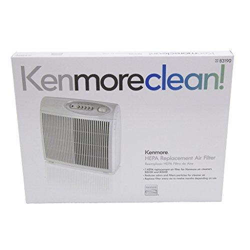 Duracraft Corporation Kenmore 83190 Air Purifier HEPA Filter Genuine Original Equipment Manufacturer (OEM) part