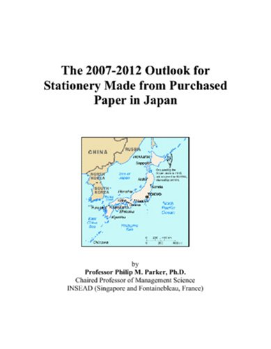 The 2007-2012 Outlook for Stationery Made from Purchased Paper in Japan
