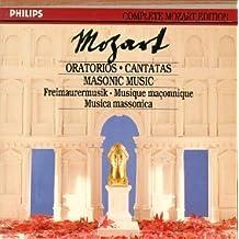 Oratorios & Masonic Music (Philips Complete Mozart Edition, Vol. 22)