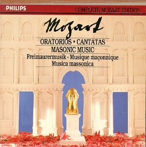 Oratorios & Masonic Music (Philips Complete Mozart Edition, Vol. 22)