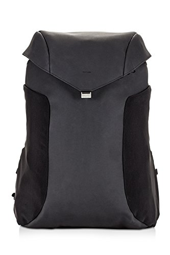 Anti Theft Leather Backpack Joey Limited Edition Rain