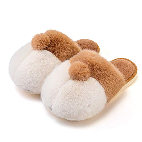 posee Corgi Gifts for Corgi Lovers Gifts for Women Animal Slippers Men Dog Slippers Kids Corgi Slippers Fuzzy Corgi…
