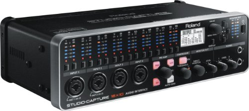 Recording Studio Roland - Roland STUDIO-CAPTURE | Flagship 16 x 10 USB 2.0 Audio Interface with 12 Premium Mic Preamps (UA1610)
