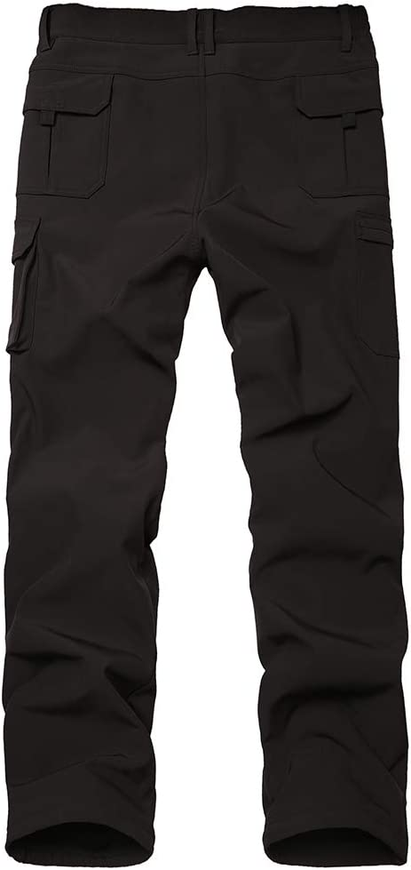 Asfixiado Kids Boys Snow Pants,Youth Outdoor Hiking Fleece Lined Soft Shell Ski Windproof Camping Insulated Pants