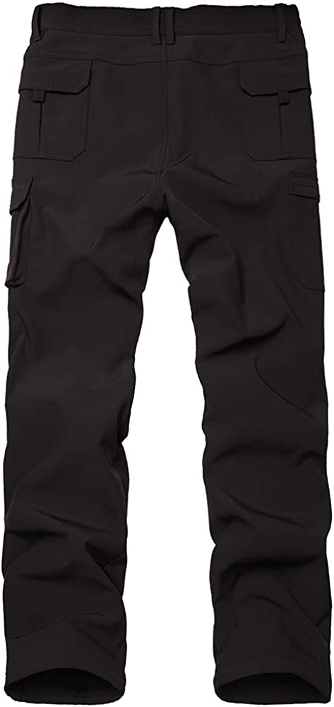 Toomett Kids Boys Girls Snow Fleece-Lined Soft Shell Insulated Waterproof Pants Tactical Winter Hiking,Camping,Travel