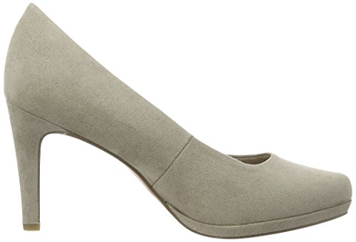 Marco Tozzi22414 - Zapatos de Tacón Mujer Beige (Taupe 341)