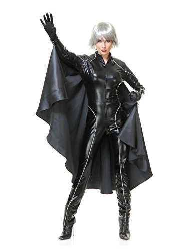 Charades Women's Thunder Super Hero W/Cape, As As Sample, Large ()