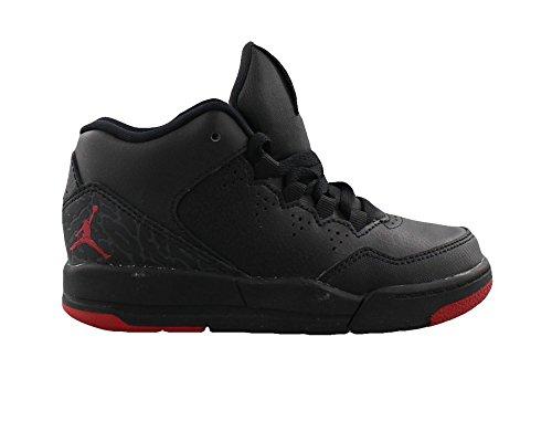 Nike Boy's Jordan Flight Origin 2 Basketball Shoe (PS) Black/Gym Red-Gym Red 2Y (Jordan Shoes For Boys Ps)