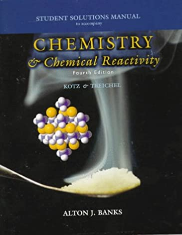 student solutions manual for kotz treichel s chemistry and chemical rh amazon com Activity Series Chemistry All Organic Chemistry Reactions