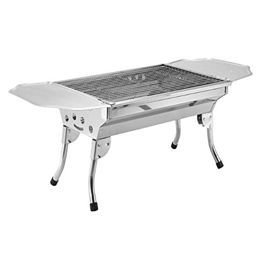 Stainless Steel Stove Outdoor Portable Charcoal Barbecue ...