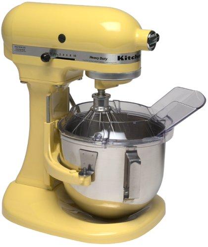 KitchenAid KSM5PS 5 Quart Stand Mixer, Majestic Yellow