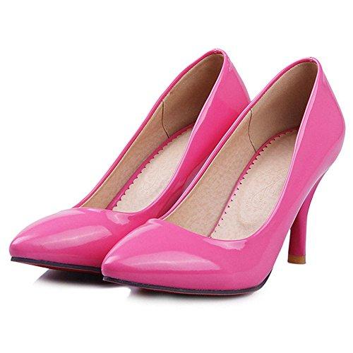 Rose mode Rose la femmes Slip pour TAOFFEN On Chaussures à AwqxfFO