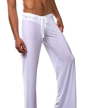Geval Men's Loose Fit Yoga Active Pants Black