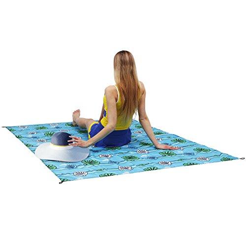 Shell Pattern Picnic Blanket