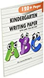Kindergarten writing paper with lines for ABC
