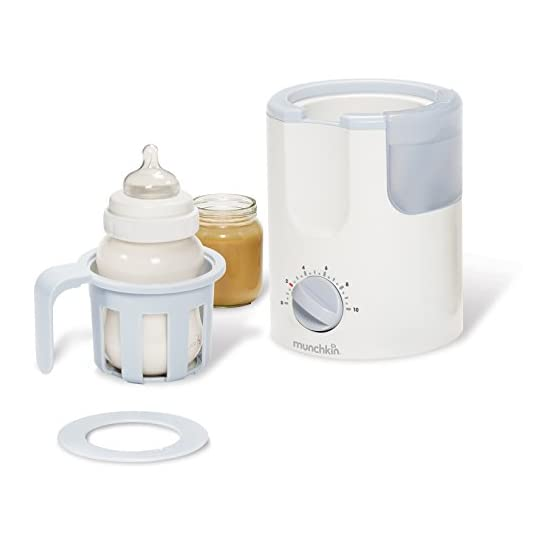 Munchkin Time Saver Bottle Warmer White
