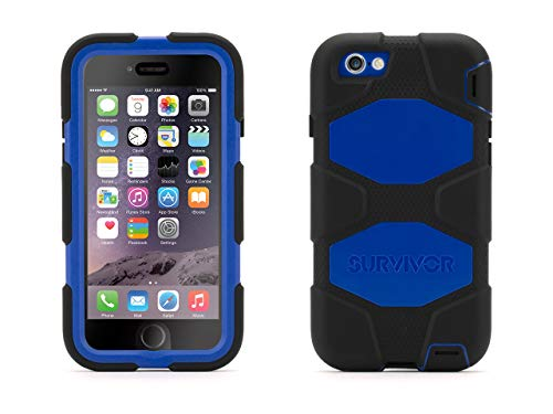 urvivor All-Terrain Case + Belt Clip for iPhone 6/6s 4.7 - Mil-spec Tested, Real-World Proven Protection ()