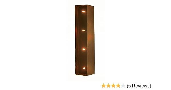 Rustic Vintage 11 Decorative LED Light Glow Letters Letter L Vandue LEDVINTAGELETTERS-L