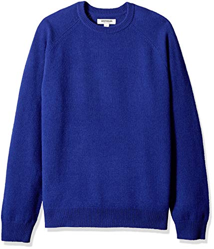 Amazon Brand - Goodthreads Men's Lambswool Crewneck Sweater