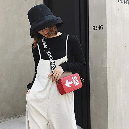 Petit À Sacs color Red Pour Main Téléphones Et Portables Sac Black Femmes Bandoulière Houyazhan XZBwqxx