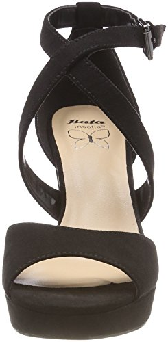 BATA Women's 769263 Ankle Strap Sandals Black (Nero 6) BgcritWboP