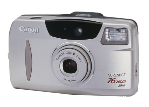 Canon Sure Shot 76 Zoom Date 35mm Camera