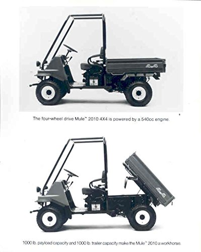 1990 Kawasaki Mule 4X4 ATV Utility Truck Factory (Kawasaki Utility Atv)