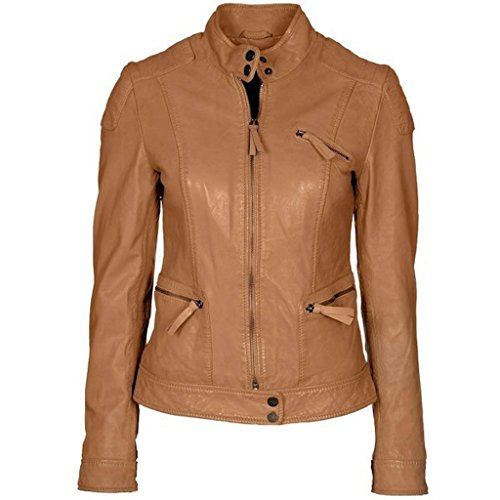 Ashley Womens Leather Jacket