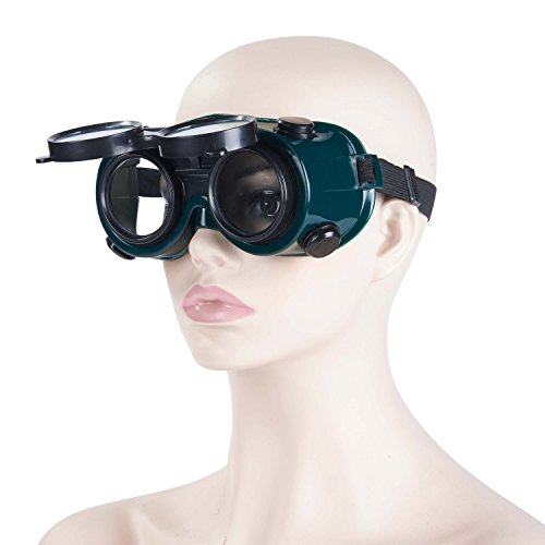 Holulo   Welding Goggle Flip Front Safety Glasses Welder Glasses For Gas - For Goggles You Coupon