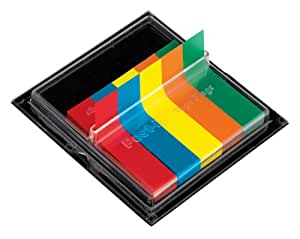 Post-it Medical Flags, 3/8-Inches Wide, Solid Primary Colors, 375/Dispenser, 1-Dispenser/Pack