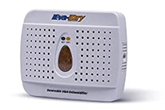 This mini dehumidifier has been design to adsorb moisture from small enclosed areas (maximum area: 10'x 10'). It will help protect clothes and valuables from the damaging effects of mold/mildew and moisture rot. It is 100% renewable and needs...