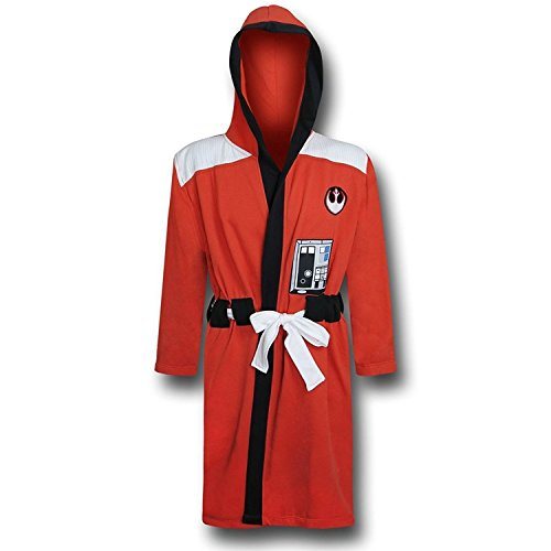 Star Wars Rebel Alliance Adult Sized Costume Bath Robe (L/XL) -