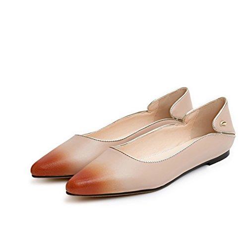 Versión coreana de los zapatos puntiagudos/Zapatos de corte bajo/Zapatos planos/zapatos casuales B