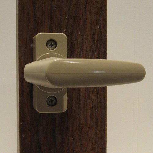 inside handle storm door latch - 8