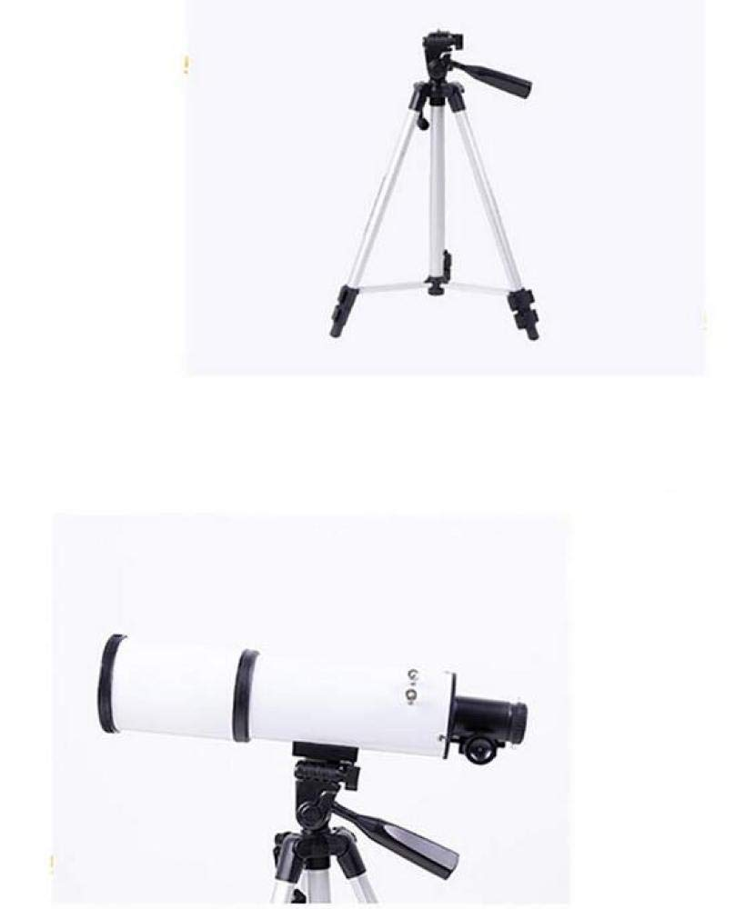 400//80Mm CTO Telescope Outdoor Monocular Space Astronomical Refractor Space with Tripod,A,Telescope
