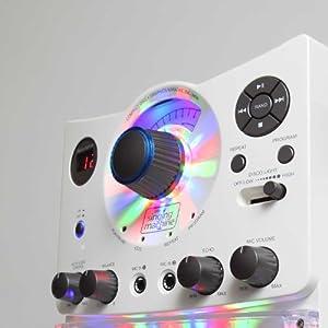 The Singing Machine Disco Light Karaoke System