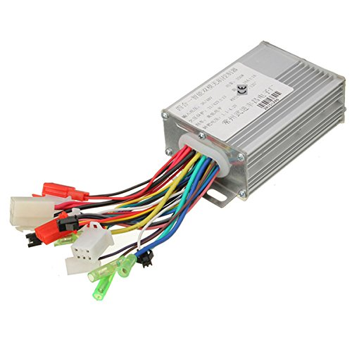 36V/48V 350W Electrocar Brushless Motor Controller For Electric