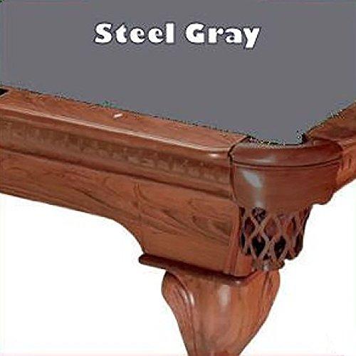 7' Steel Gray ProLine Classic Teflon Billiard Pool Table Cloth (Pro Line Felt)