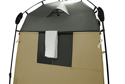 418QbAPZWNL Lumaland Outdoor Where Tomorrow Pop Up Duschzelt Umkleidezelt Toilettenzelt Stehzelt Camping 155x155x220 cm robust