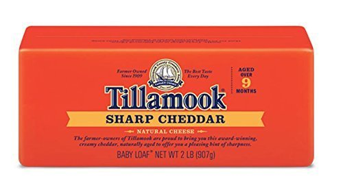 Tillamook Cheese 2lb Baby Loaf (Choose Flavor Below) (Sharp)
