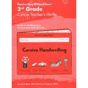 - 3rd Grade Cursive Teacher's Guide