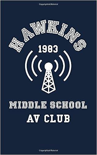 Hawkins Middle School Av Club Small Blank Notebook Unofficial