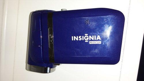 Insignia NS-DV720P High-Definition 720p Digital Camcorder (Dark Blue)