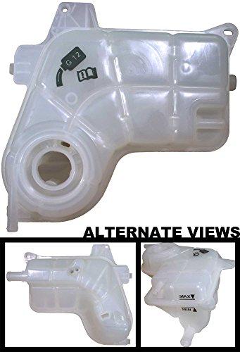 APDTY 133639 Coolant Reservoir Plastic Bottle Expansion Degas Tank Fits 2002-2009 Audi A4 V6 Includes A4 Quattro (6-Cylinder Models Only; Tank Only; Replaces 8E0-121-403A, (Audi A6 Quattro Coolant)