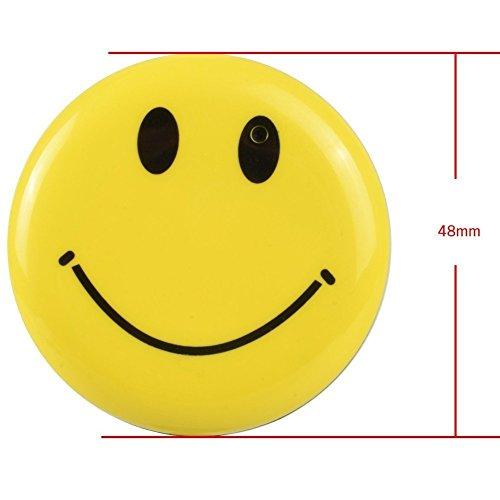 Elite ETSPY 8GB Mini Hidden Spy Camera Wearable Smile Face Badge Covert Camera Nanny Cam Indoor Security Video Camera