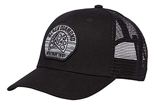 Black Diamond BD Trucker Hat Aluminum Knit-Black OS & Cooling Towel Bundle ()